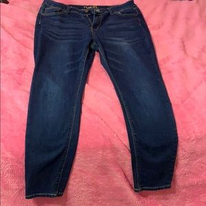 Rue 21 dark blue jean pants